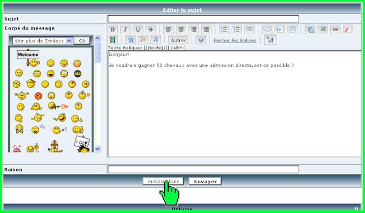 TUTO] Comment Editer et Supprimer ses messages