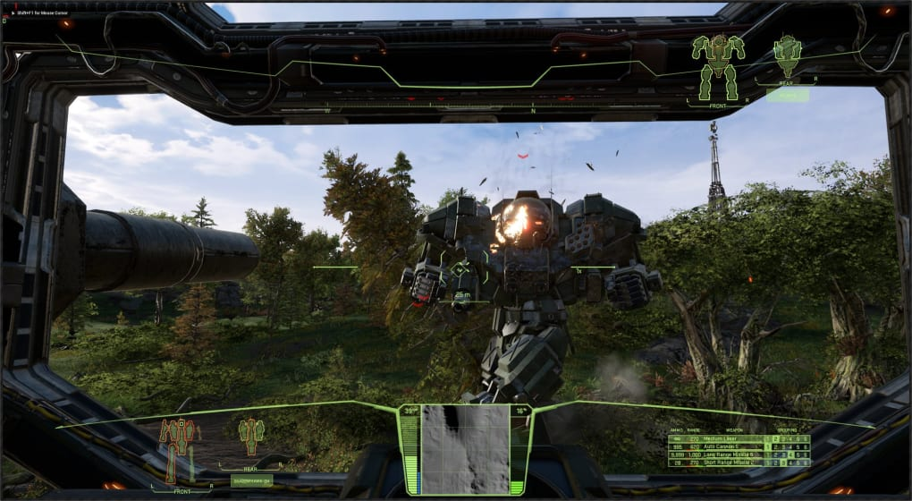 لعبة المرتزقة | MechWarrior 5: Mercenaries