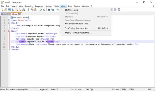 برنامج تحرير النصوص والاكواد | Notepad++