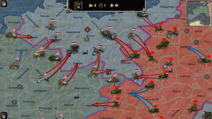 لعبة التخطيط وعمل التكتيكات الحربية   Strategy and Tactics