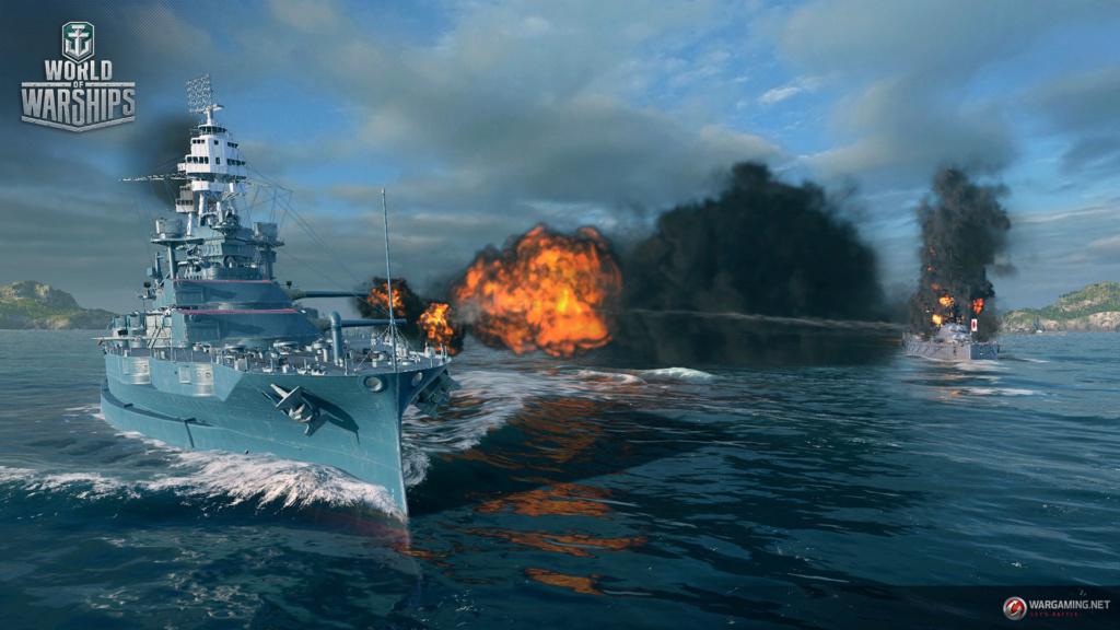 لعبة عالم السفن الحربية | World of Warships